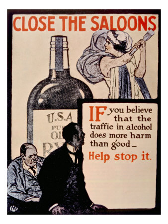 1920's Prohibition Posters: Do It for the Children!