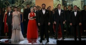 One of the Best Oscar Show Performances I've Seen: Jackman, Hathaway and the Cast of Le Mis