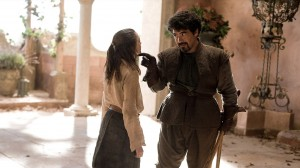 "Syrio: ""What do we say to the God of death?"" Arya: ""Not Today."""