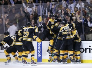 What Were the Odds of a Bruins Comeback? Toronto had a 99.99% Chance of Winning