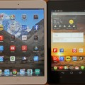 iPad Mini vs. the Nexus 7 2