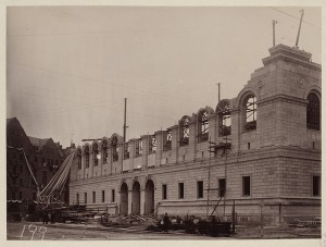 Boston Then and Now: The Boston Public Library