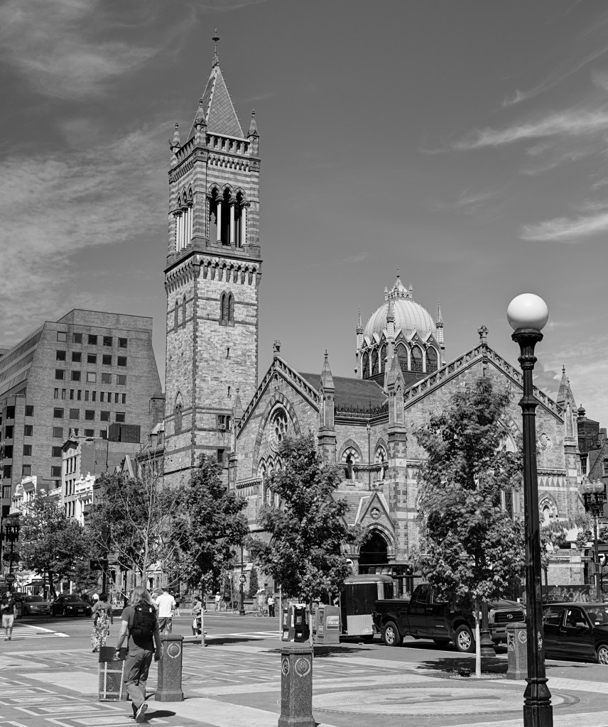 Old South Church - HDR - 2014-06-21 8546_7_8 bw 2000