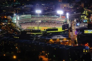 Pictures: Fenway Park at Night