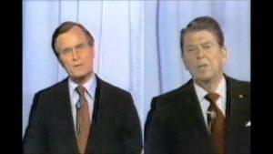 Ronald Reagan and George H.W. Bush Discuss Immigration in 1980